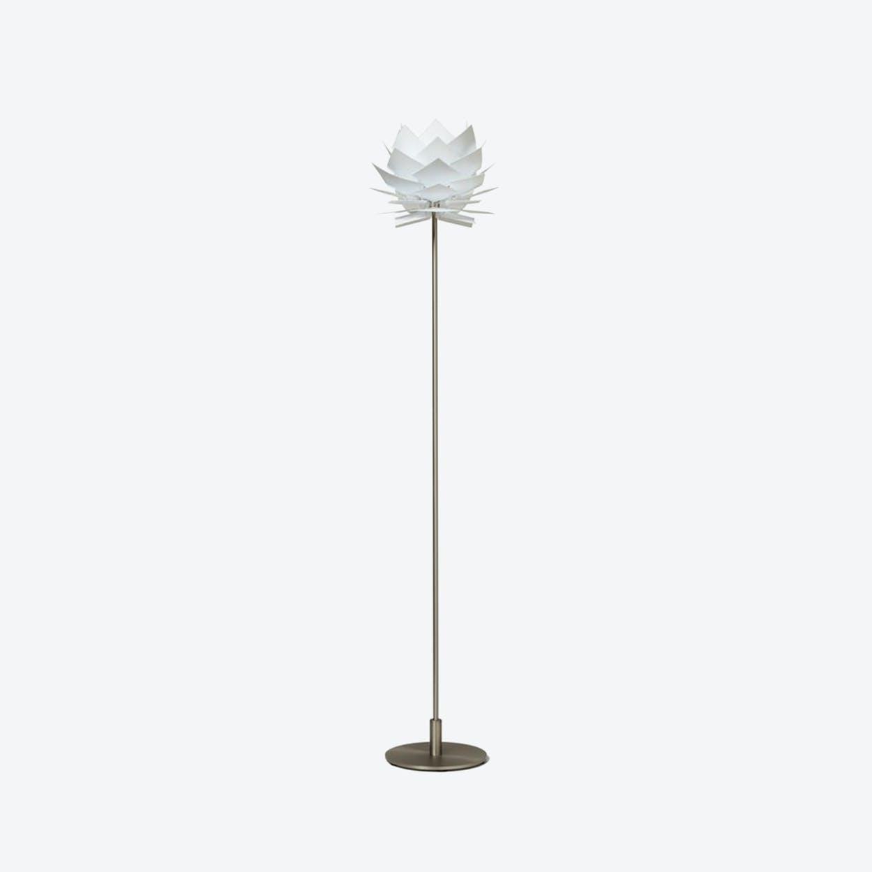 XS PineApple Floor Lamp in White