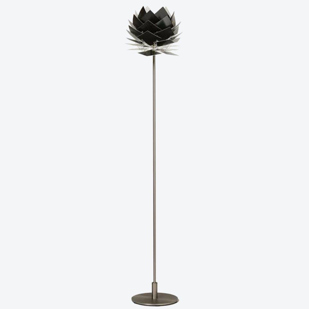 XS PineApple Floor Lamp in Black