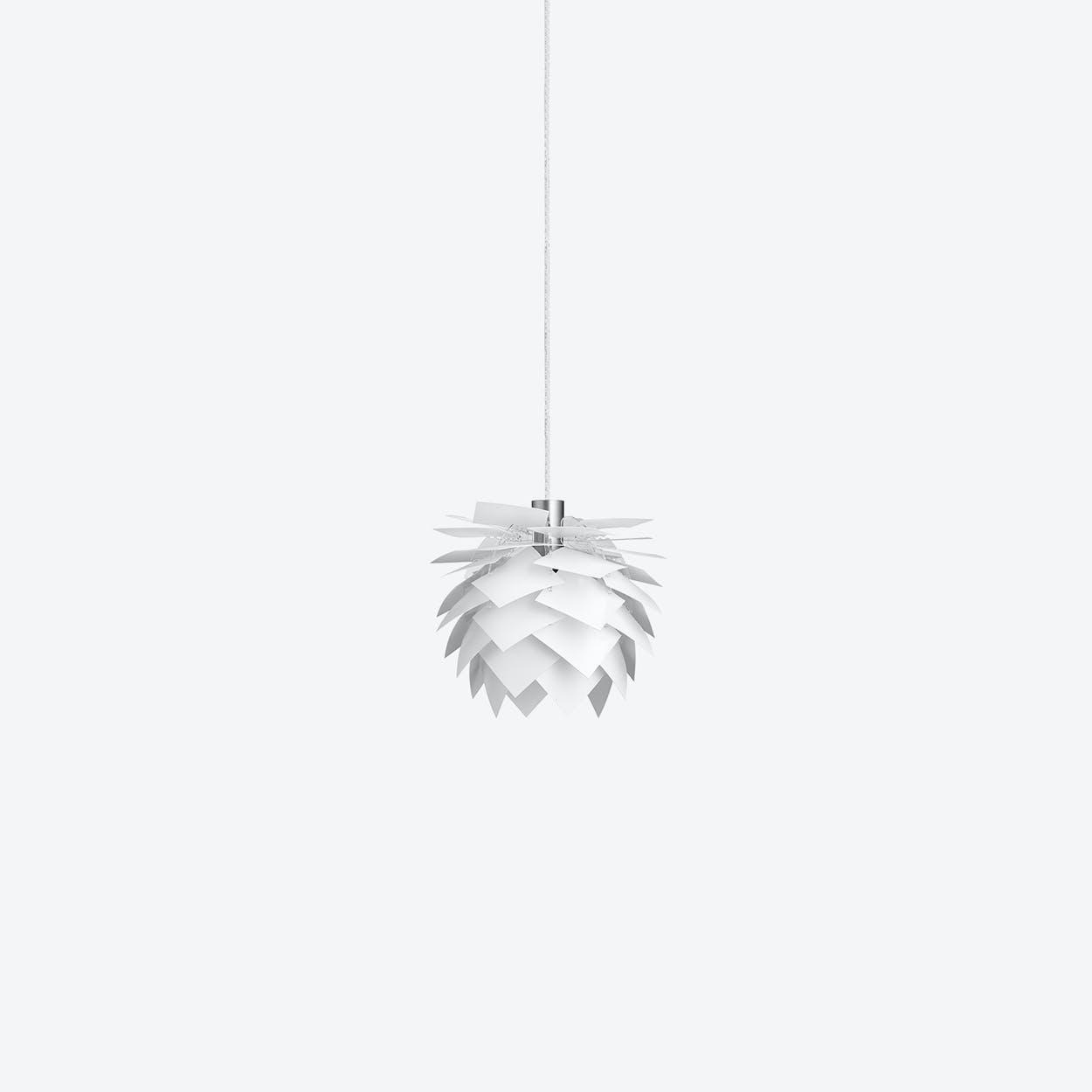 XS PineApple Pendant Lamp in White