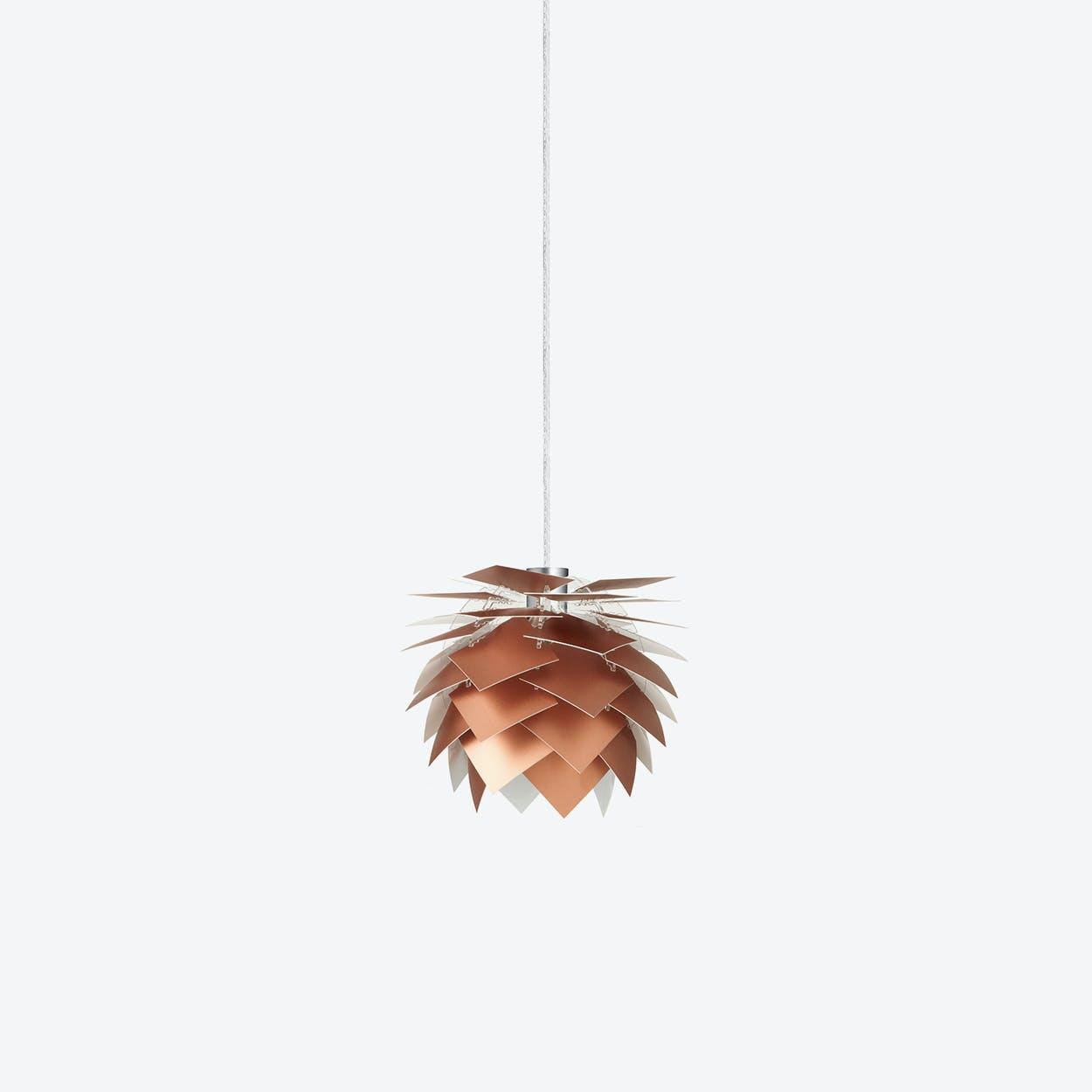 XS PineApple Pendant Lamp in Copper Look