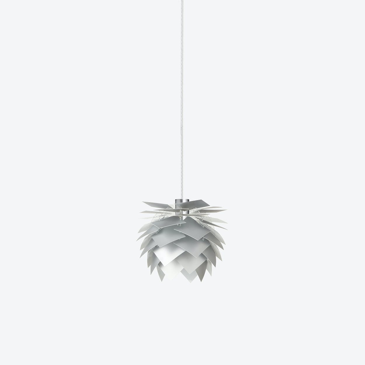 XS PineApple Pendant Lamp in Aluminium Look