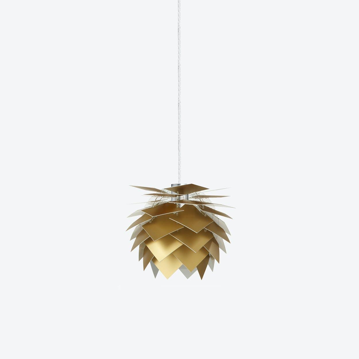 XS PineApple Pendant Lamp in Gold Look