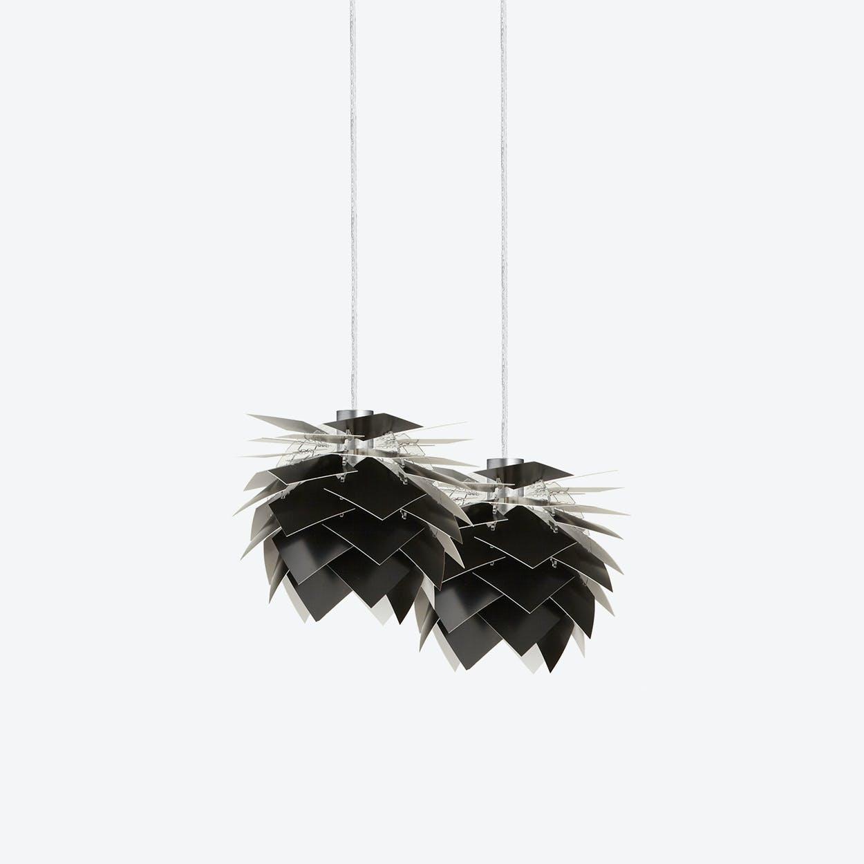 XS PineApple Set of Pendants in Black