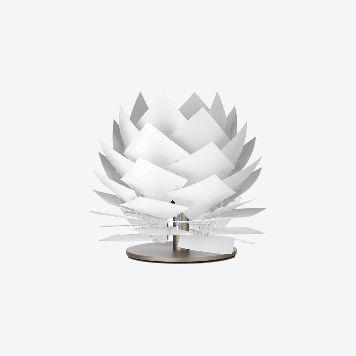 XS PineApple Low Table Lamp In White By Dyberg Larsen