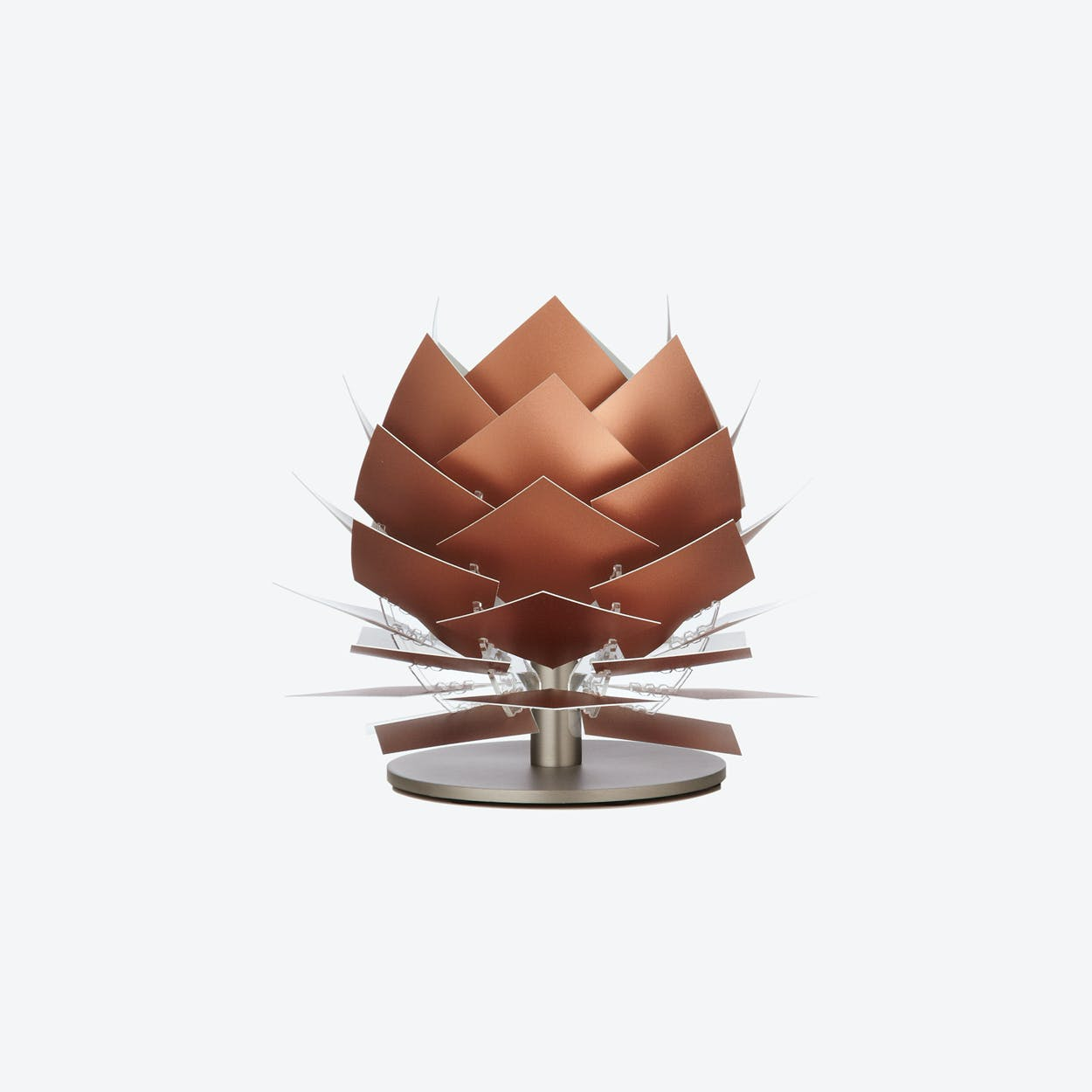 XS PineApple Low Table Lamp in Copper Look