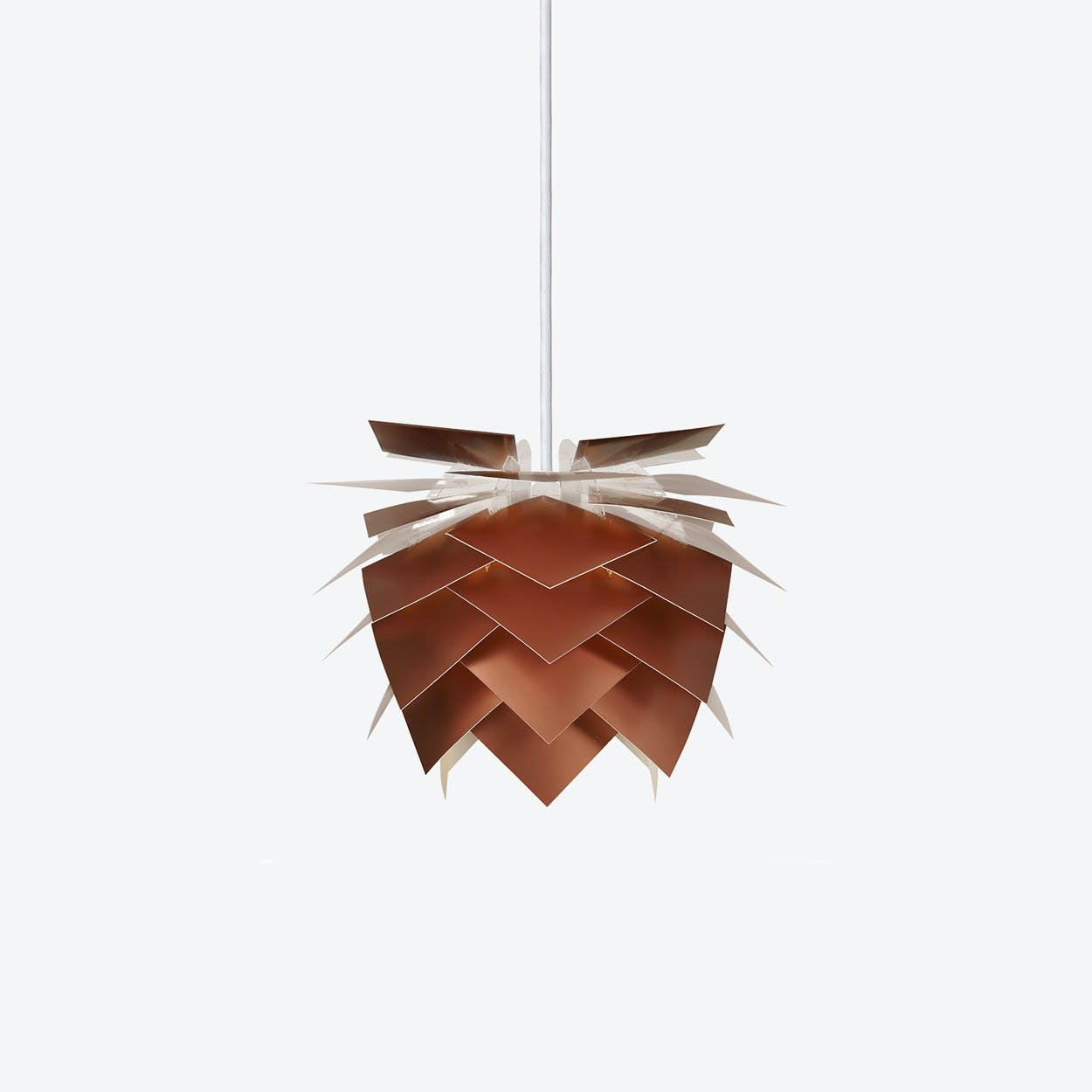 PineApple Inbetween Pendant Lamp in Copper Look