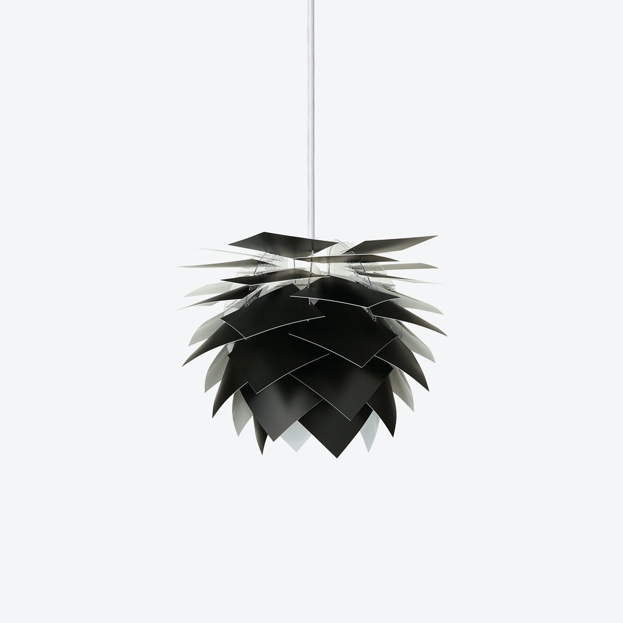 PineApple Inbetween Pendant Lamp in Black