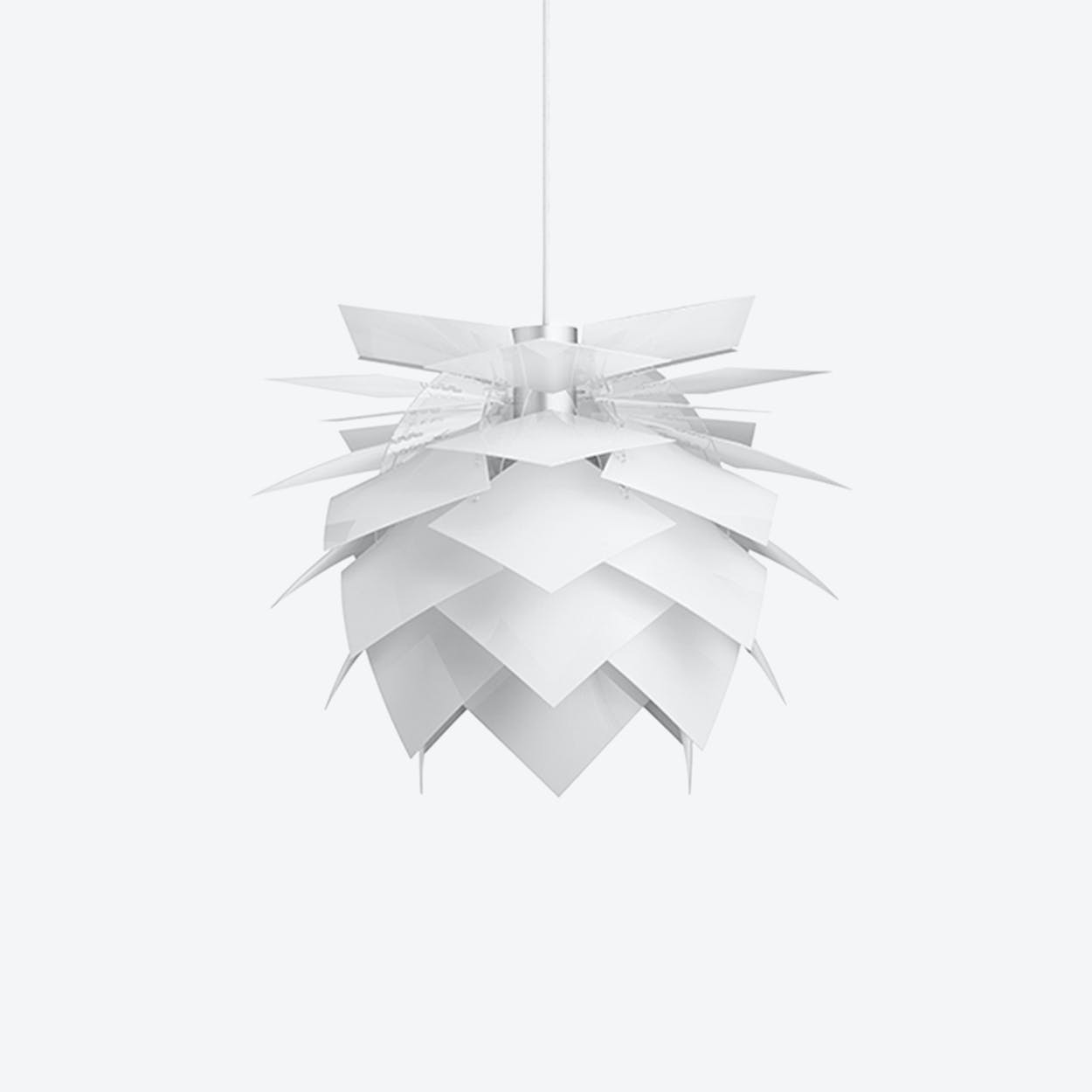 Medium PineApple White Pendant Lamp
