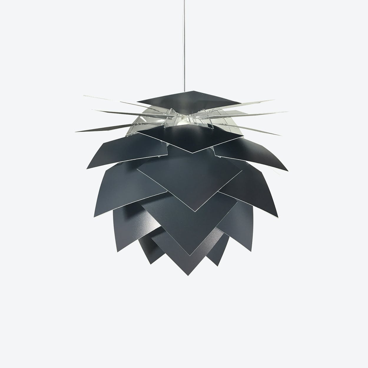 Special Edition Medium PineApple Pendant in Anthracite Grey