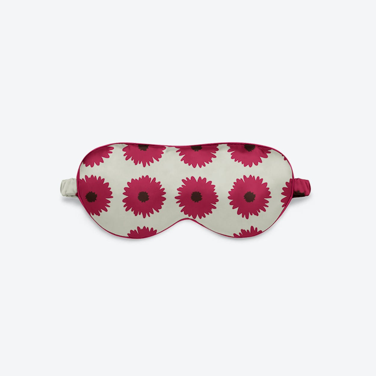 Luxury Silk Eye Mask - Pink Bloom