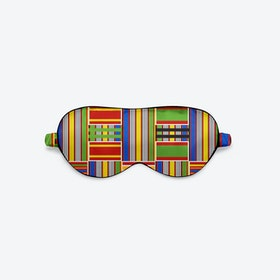 Luxury Silk Eye Mask - Vintage Kente