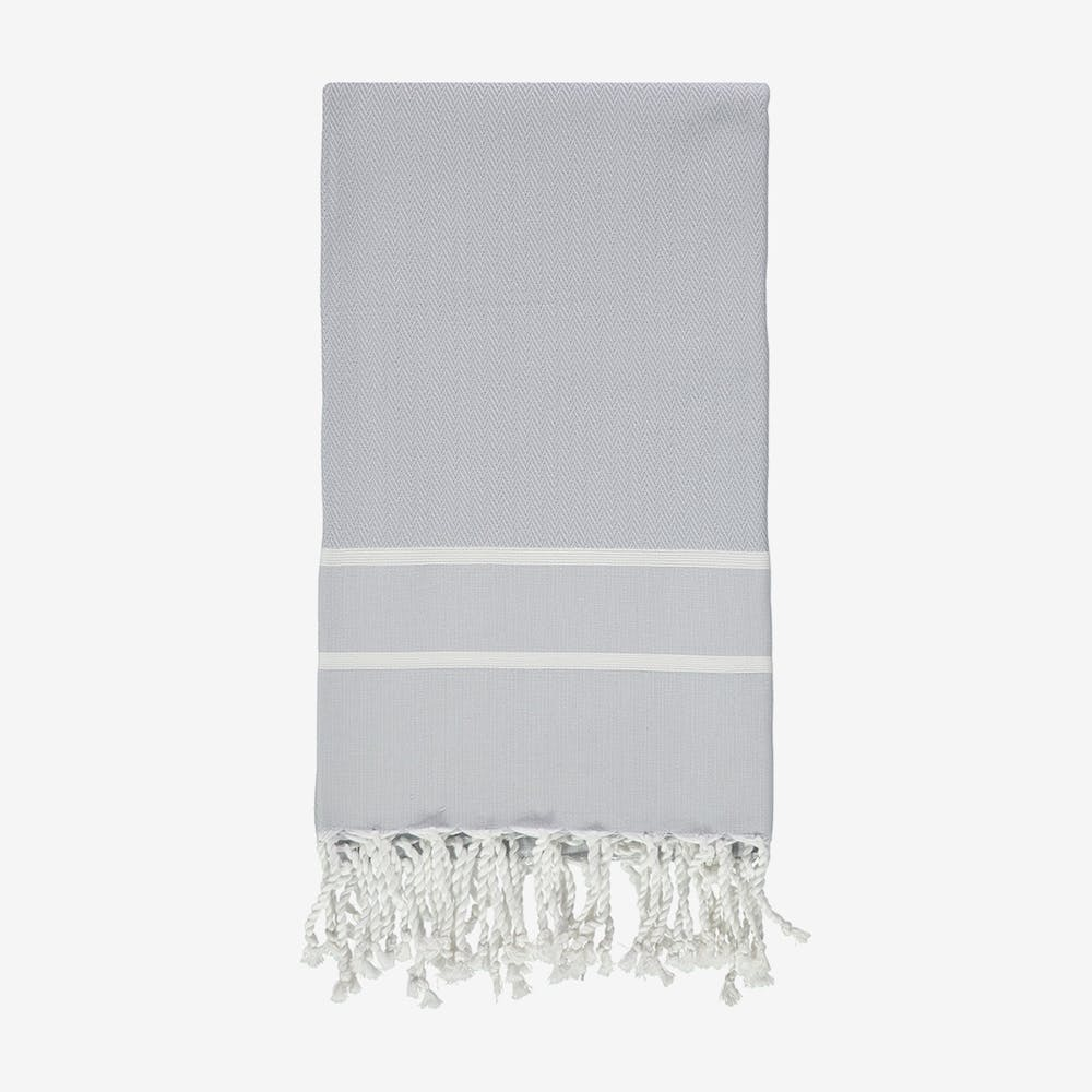 Herringbone in Grey