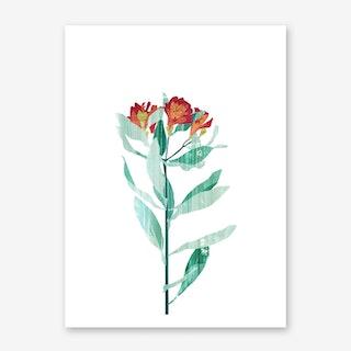 Flower Power #4 Art Print