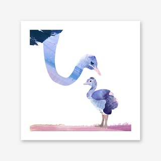 Fuzzy Love Art Print