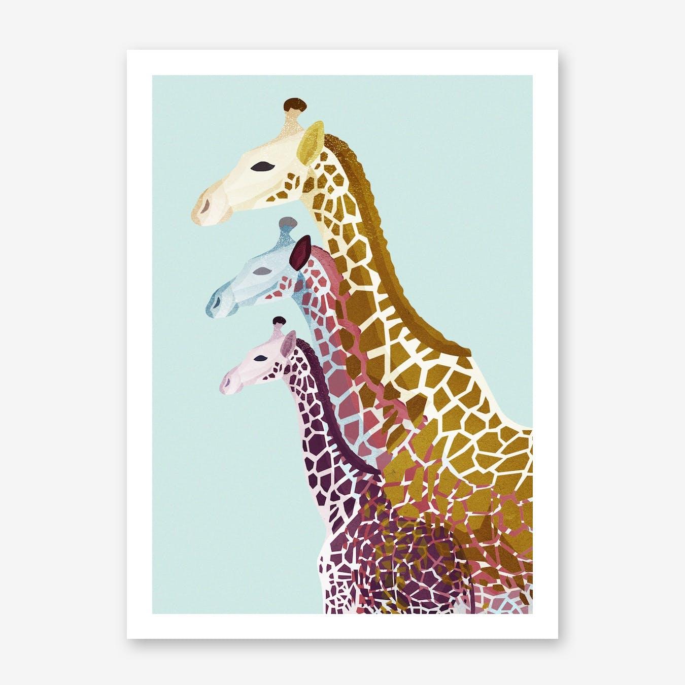 Giraffes in Mint