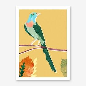 Green Bird Art Print