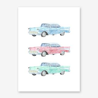 Pick a Car Art Print