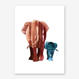 A Walk Together Art Print