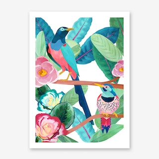 Birds of Spring Art Print