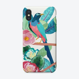 Birds of Spring iPhone Case
