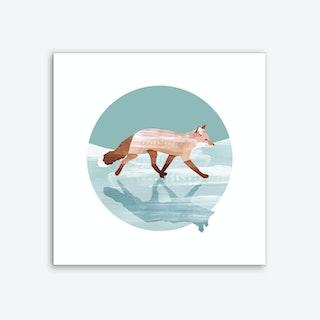 Run Foxy Run Art Print