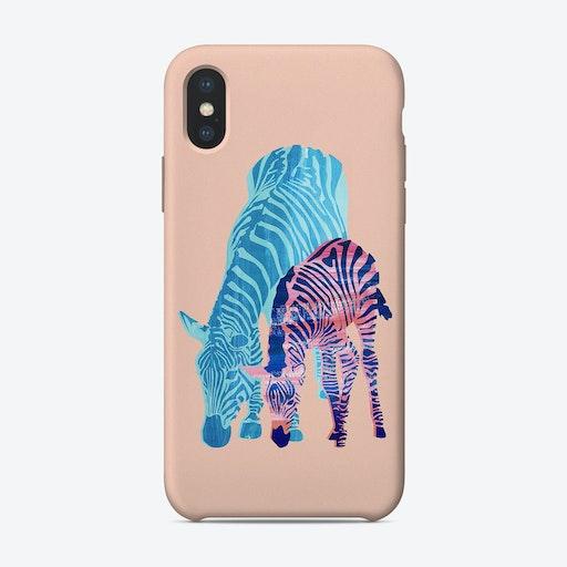 Striped Love iPhone Case