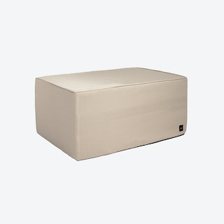Bloc Ottomane in Beige Free (outdoor)