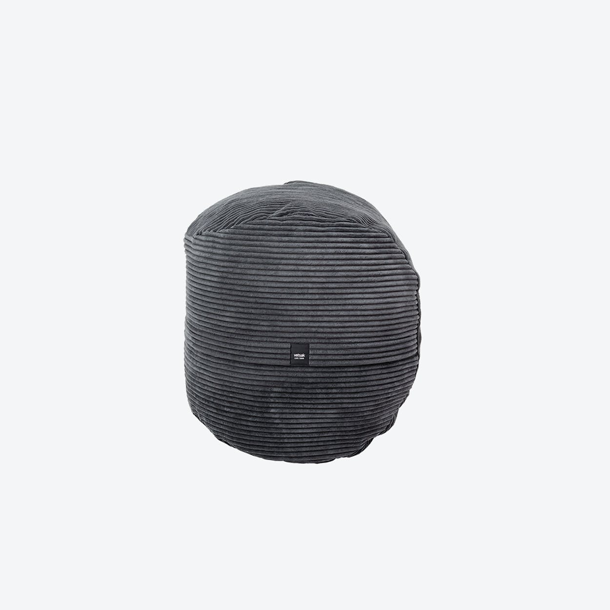 Footsask in Dark Grey Corduroy