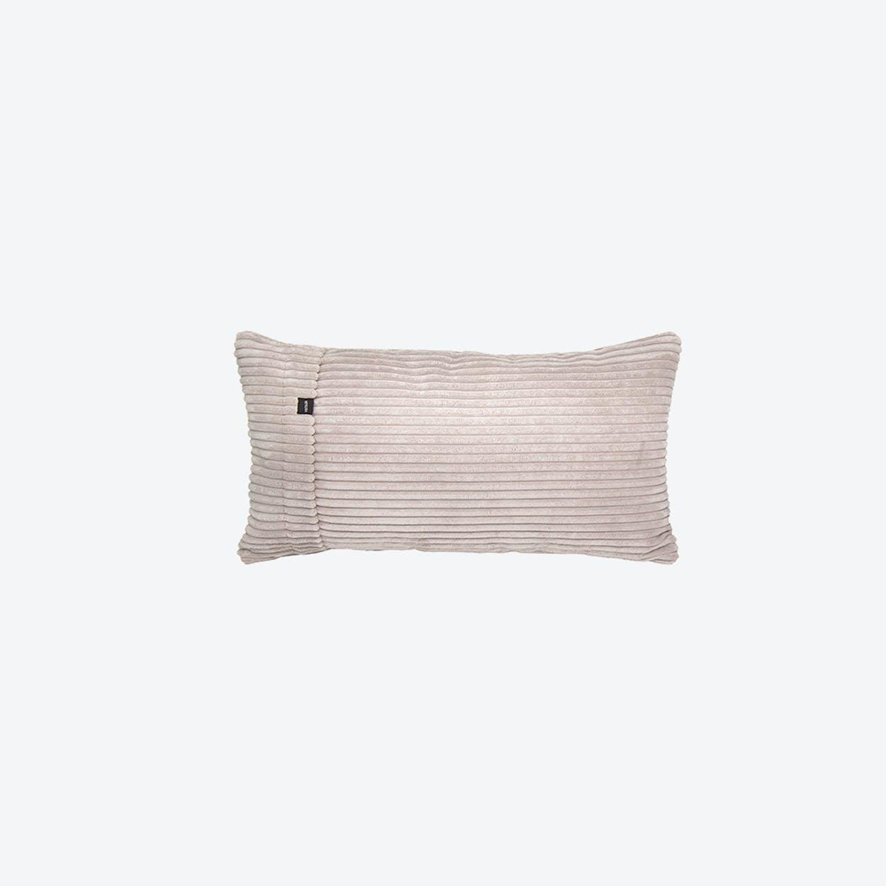 Pillow in Beige Corduroy