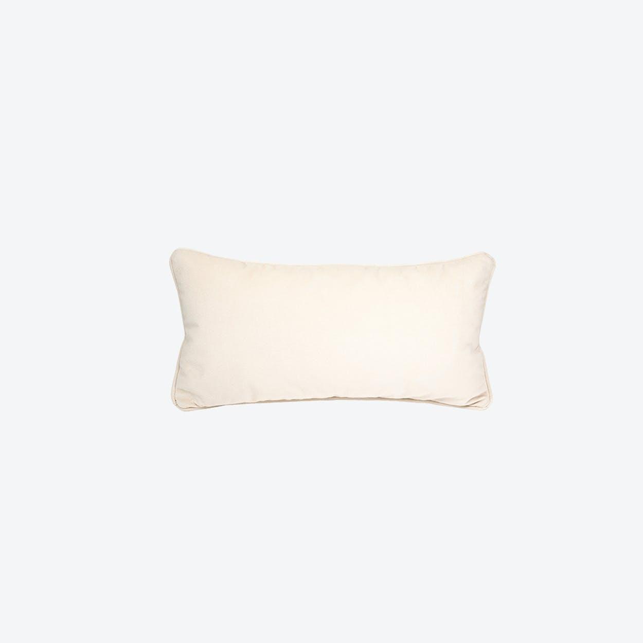Pillow in Creme Velvet