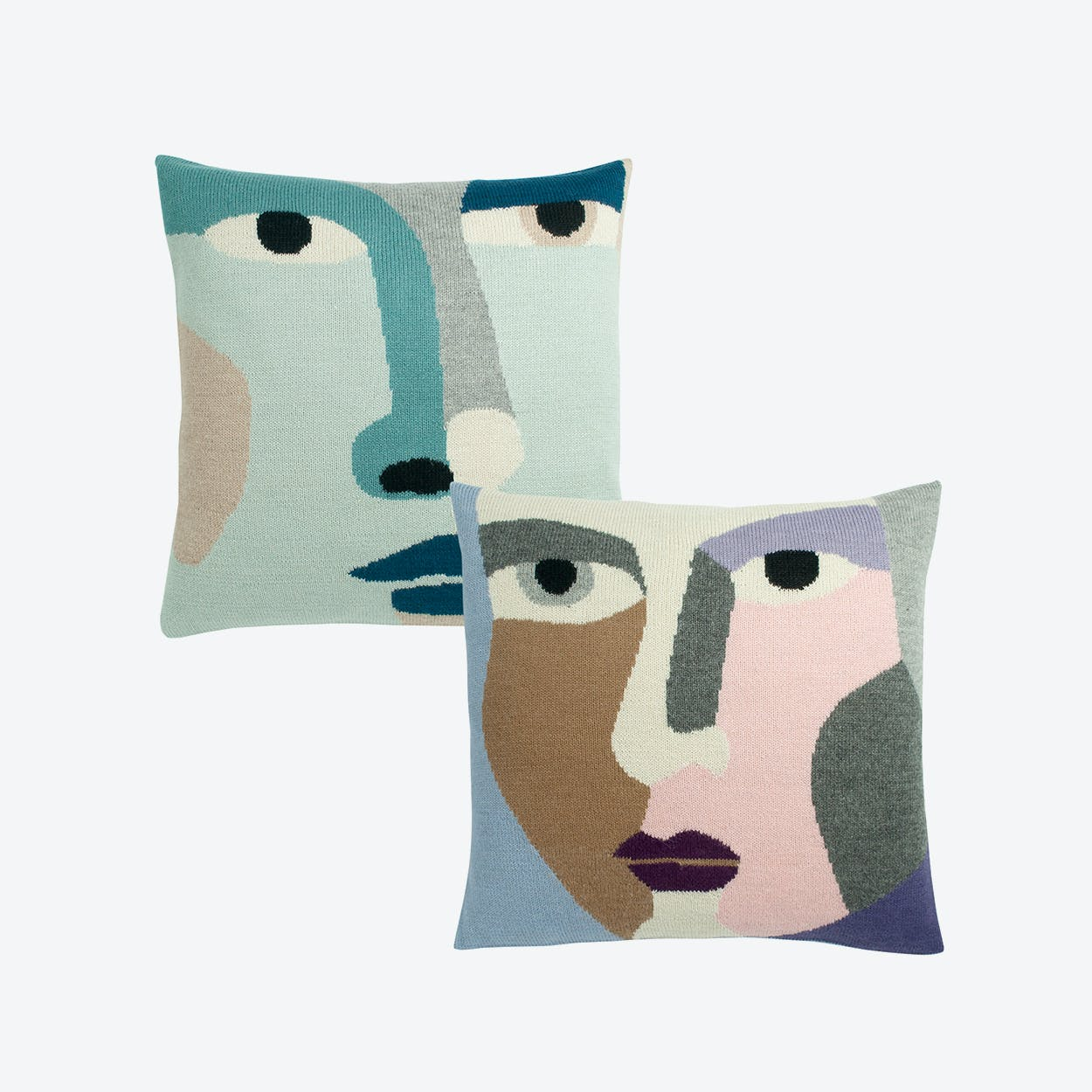 Look Now + Pretty Much Cushion Case (Set of 2)
