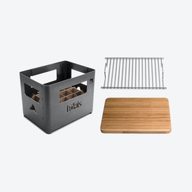 BEER BOX Fire basket Bundle (set of 3)