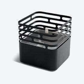 CUBE Fire Basket Black