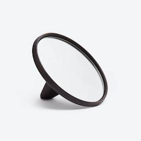 Satellite Hand Mirror Smoked Oak