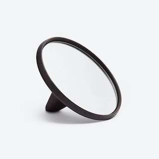 Satellite Hand Mirror Smoked Oak