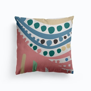 Ode To Yayoi Canvas Cushion