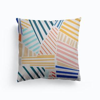 The Strokes Canvas Cushion