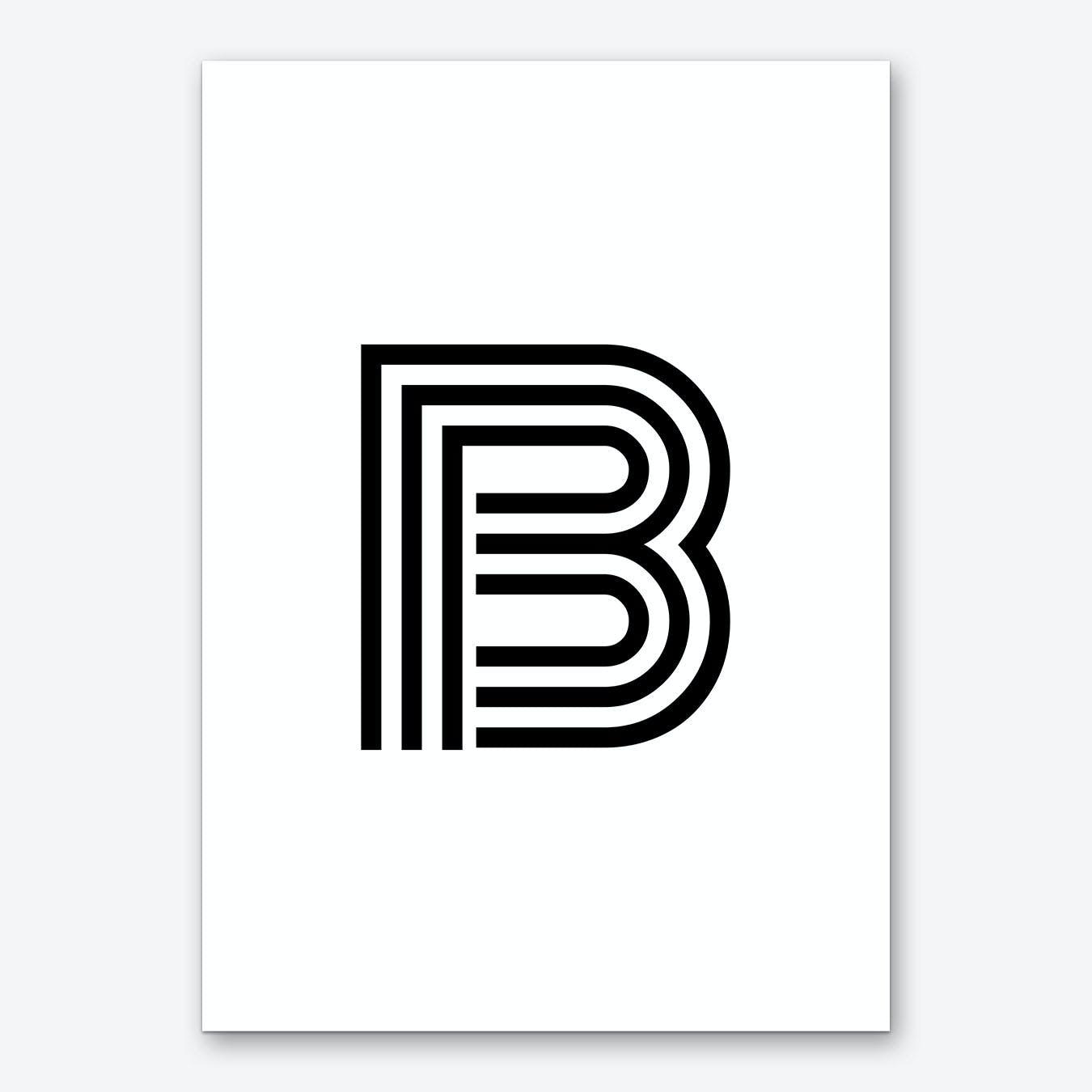 Black Letter B