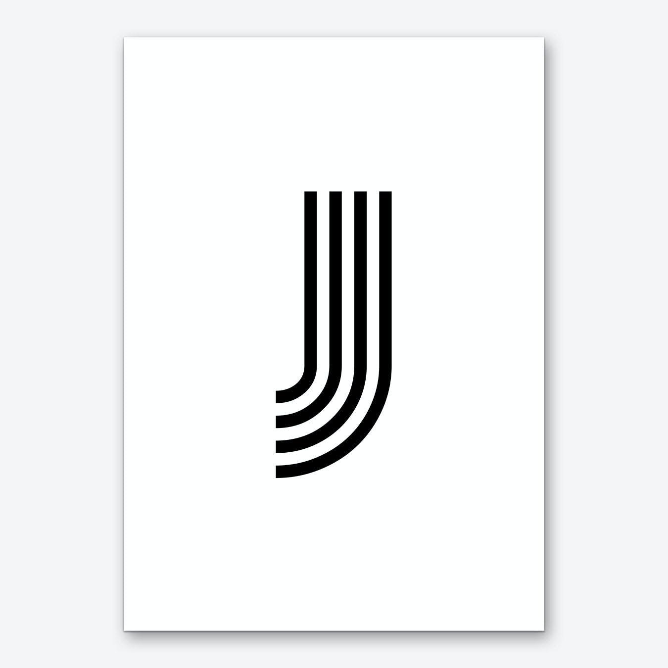 Black Letter J