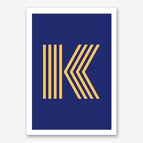 Yellow Letter K