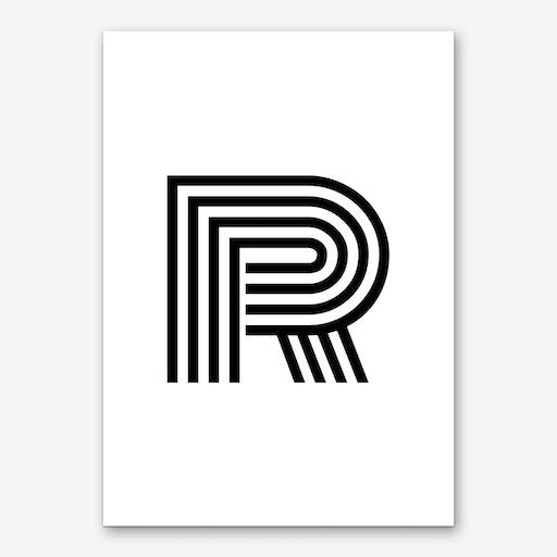 Black Letter R