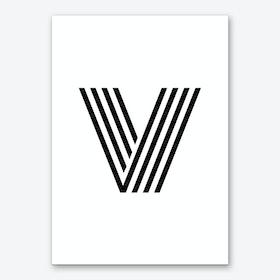 Black Letter V