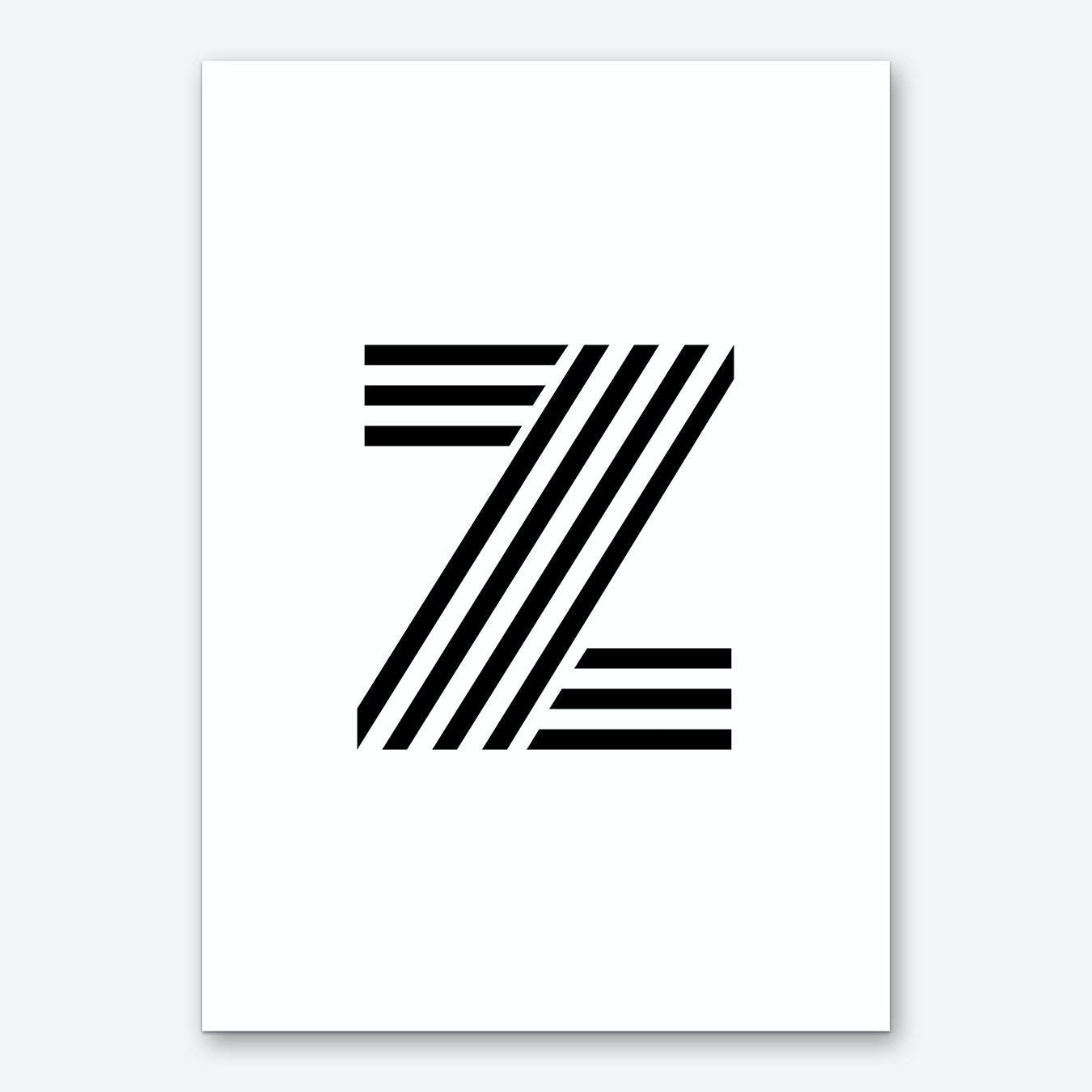 Black Letter Z