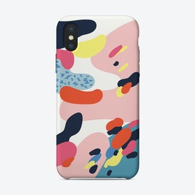 Abstract Colorful Illustration iPhone Case