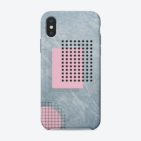 Abstract Marble Illustration iPhone Case