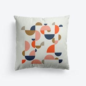 Bauhaus Shapes Cushion