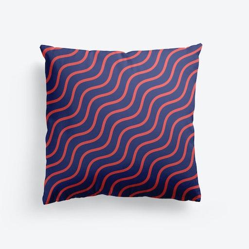 Groovy Waves Cushion