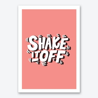 Shake It Off Art Print