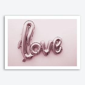Love Pink Balloon