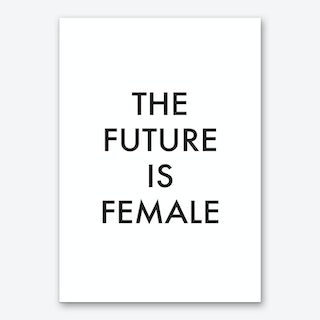 The Future Is Female I Art Print